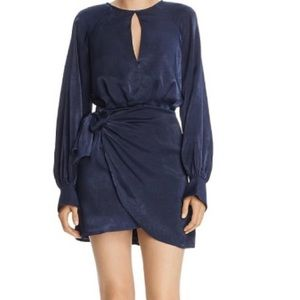 Finders Keepers Tie Front Party Dress